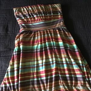 Strapless American Rag dress